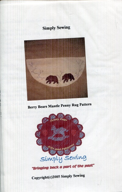 Image for Roly Poly Snowman Penny Rug Pattern