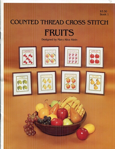 Image for Counted Thread Cross Stitch Fruits Book 1