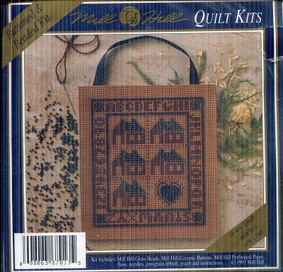 Image for Quilt Kit Buttoned and Beaded