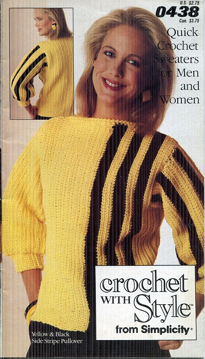 Image for Quick Crochet Sweaters for Men and Woman No. 0438