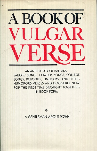 Image for A Book of Vulgar Verse