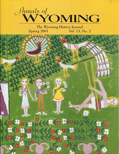Image for Annals of Wyoming Spring 2001 Vol 73 No 2