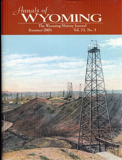 Image for Annals of Wyoming Summer 2001 Vol 73 No 3